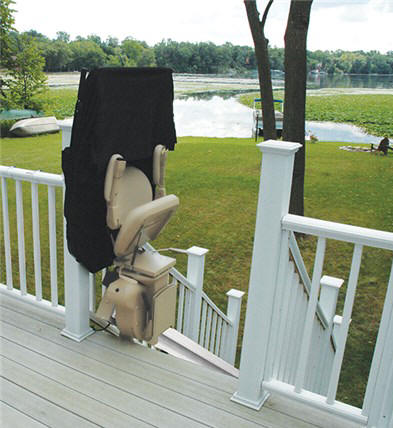 Pittsburg outdoor outside exterior stairchair