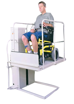 MACS PL50 MACLIFT MACSLIFT.COM SAN FRANCISCO WHEELCHAIR ELEVATOR PORCH LIFT MOBILE HOME SCHOOL PORCHLIFTS